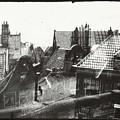 View Over Rooftops In Amsterdam  George Hendrik Breitner  C  1890    . 1910 by Artistic Panda