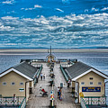 View Over The Pier by Steve Purnell