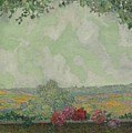 View Terrace by Henri Le Sidaner