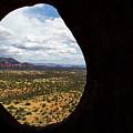 View Through A Portal, Sedona, Arizona by Steve Wile
