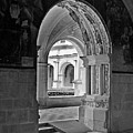 View Through An Arch by Dave Mills