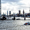 View To Westminster London by Dorothy Berry-Lound