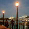 Viewing The Bay Bridge Lights by Bonnie Follett