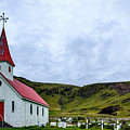 Vik Church And Cemetery - Iceland by Stuart Litoff