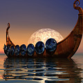 Viking Boat by Corey Ford