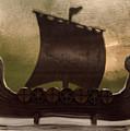 Viking Boat by Elaine Berger