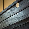 Viking Ship Museum Holes Detail by Adam Rainoff