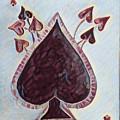 Vikings Ace Of Spades by Nima Honarbakht