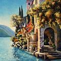 Villa Balbianello Lake Como by Santo De Vita