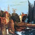 Villa By The Sea 1878 by Bocklin Arnold