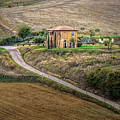 Villa In Tuscany, Italy by Sanchez PhotoArt
