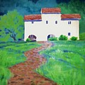 Villa In Tuscany by Suzanne McKay