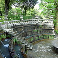 Villa Lante Garden by Valentino Visentini