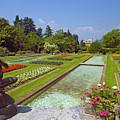 Villa Taranto Gardens,lake Maggiore,italy by Philip Enticknap