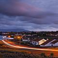 Village At Twilight by Gaspar Avila