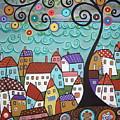 Village By The Sea by Karla Gerard