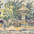 Village Festival by Paul Signac