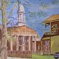 Village Hall- Montour Falls by Joseph Stevenson