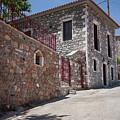 Village In Greece by Al Poullis