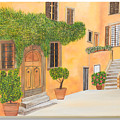 Village In Tuscany N. 4 - by Sandra Lorant