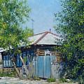 Village Line. Summer by Alexander Volya