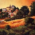 Village Of Molise Italy by Santo De Vita