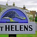 Village Sign - St Helens by Rod Johnson