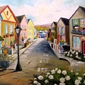 Village Street by John Williams