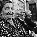Village Women In Alberca Spain by Arvind Garg
