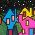 Villagescape by Jim Harris