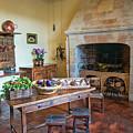 Villandry, Loire, France, Kitchen by Curt Rush