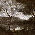 Ville by Camille Corot