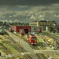 Vilnius Depot  by Rob Hawkins