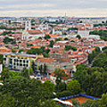 Vilnius Panorama From The Hill Of Three Crosses by RicardMN Photography