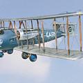 Vimy In Flight by Alex Arkhipau