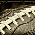 Vince Lombardi Quote by David Patterson