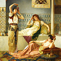 Vincent Stiepevich In The Harem by Munir Alawi