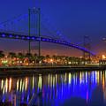 Vincent Thomas Bridge by Eddie Yerkish