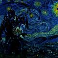 Vincent Van Ghost Xxv by Jose A Gonzalez Jr