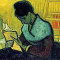 Vincent Van Gogh  A Novel Reader by Artistic Panda