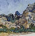 Vincent Van Gogh  Mountains At Saint Remy by Artistic Panda