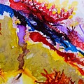Vines And Glow Abstract by Warren Thompson