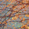 Vines And Rust 1 by Lynda Lehmann