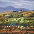 Vineyard In California by Heather Coen