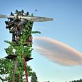 Vineyard Propeller 2 by Travis Elder