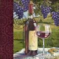 Vineyard Wine Tasting Collage I by Paul Brent