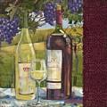Vineyard Wine Tasting Collage II by Paul Brent