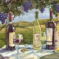 Vineyard Wine Tasting by Paul Brent