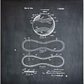 Vintage 1928 Baseball Patent Chalk by Bill Cannon