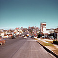 Vintage 1950s View Of Congress Avenue Looking North From South Congress To The Capitol by Austin Welcome Center